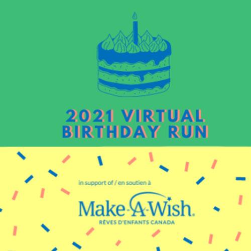 Virtual Birthday Run