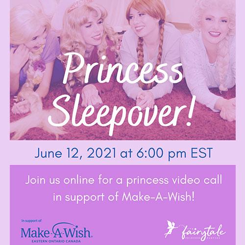 Princess Sleepover Ottawa