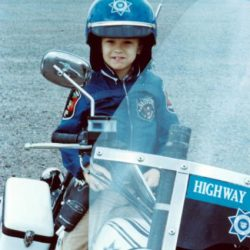 chris on motorcycle